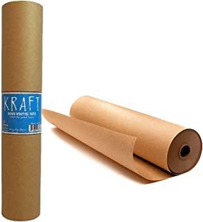 牛皮纸棕色包装纸卷 24 x 1.8 英寸(45.7 米)– * 可回收工艺结构和包装纸,适用于移动、公告板背衬和纸质桌布