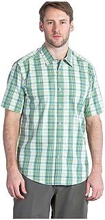 ExOfficio 男式 Mundi Check 短袖衬衫