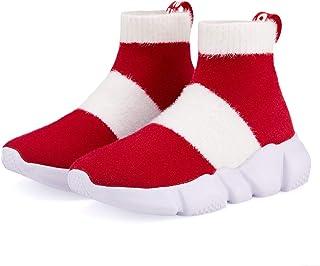 Hetios 女孩运动鞋跑步鞋高跟袜鞋男孩运动鞋儿童袜子鞋(幼儿/小童/大童)