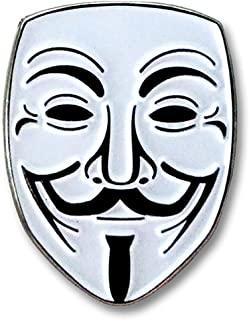 Pinsanity Guy Fawkes 匿名翻领别针