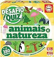 Educa 18222 Desafio Quiz-Descobrir Os Animais E A Natureza。能量灌木和响应 + 6 年参考。