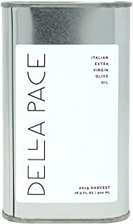 Della Pace 意大利*初榨橄榄油,2019收获,2020发布500毫升 - 16.9液体盎司