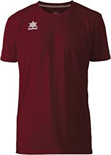 Luanvi Pol 男士 T 恤,短袖 S 号石榴红