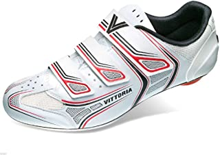 Vittoria Twister 儿童公路自行车鞋 - 白色/红色