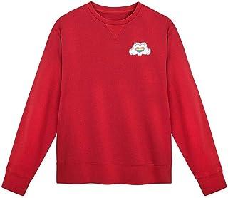 Disney 彩虹系列米老鼠心形羊毛套头衫女式