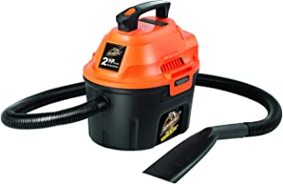 ArmorAll AA255 Utility Wet/Dry Vacuum, 2.5 gallon, 2 HP 橘色/黑色 30.7 x 13 x 13.5 inches
