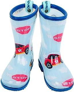 Candy-Baby 儿童男孩女孩 PVC 雨靴/儿童雨靴