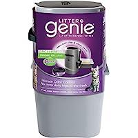 乱扔垃圾 Genie 猫砂 disposal 系统补充打印机碳粉 银色 1件