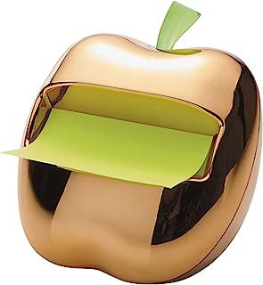 Post-It 金色 Apple 弹出纸盒 3 x 3 英寸便签,内含 1 罐.