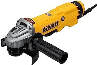DEWALT DWE43114N 高性能桨状开关研磨机,4-1/2 英寸 - 5 英寸