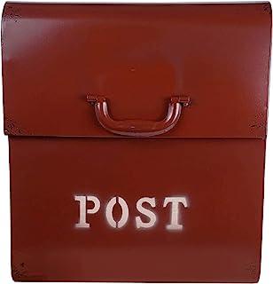 NACH FZ- CJ 粉末涂层 壁挂式邮箱 金属信箱 乡村红 FZ-M1002RD