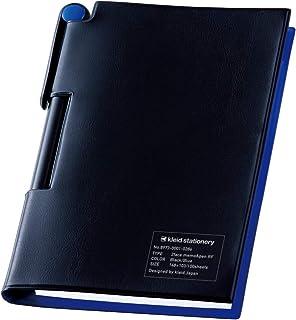 kleid 记事本 2 Fesmor&笔RF 2 mm方格 黑色/蓝色 8825