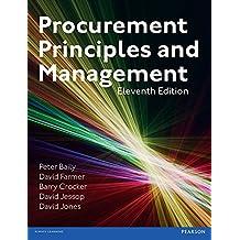 Procurement, Principles & Management (English Edition)