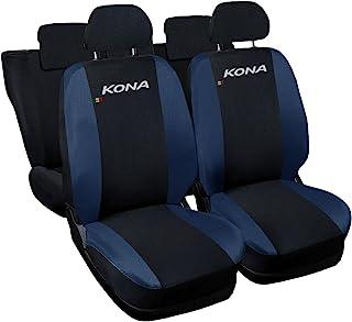 Lupex Shop N.BS 座椅套与柯纳兼容,黑色/深蓝色