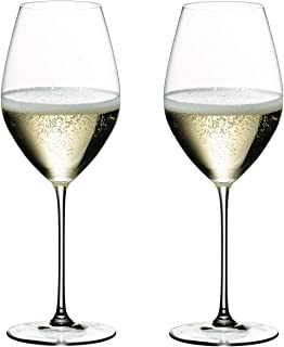 Riedel Veritas Crystal Champagne Glass 透明 Set of 2