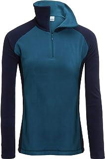Columbia Arctic Air 抓绒 1/2 拉链套头衫 - 女式 Phoenix Blue/Collegiate Medium
