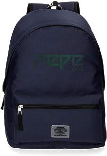 Pepe Jeans Osset 学生背包,42 厘米 蓝色(硫) 蓝色(硫)