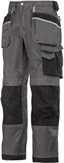 Snickers 32127404042 工匠长裤 Duratwill 尺寸 42 英寸(约 106.7 厘米) 煤灰色