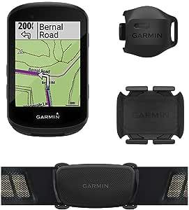 Garmin Edge 530传感器,高性能GPS自行车计算机,带地图,动态性能监测和流行路线,含速度和节奏传感器和HR监视器