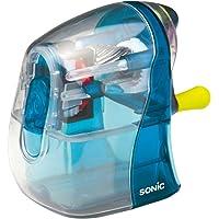 Sonic 手动铅笔刀 KARU-HALF 镂空设计 透明蓝色