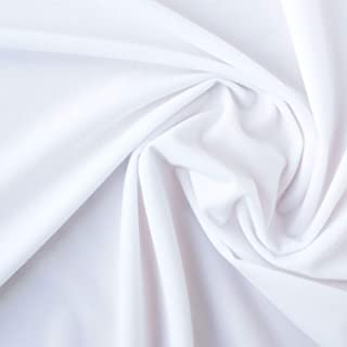 日本系带扣贸易 NBK 儿童十字架 魔术贴粘在面料 布艺 玩具 面板剧院 白色 宽约110cm×50cm裁剪 WJ2729-1-50CM