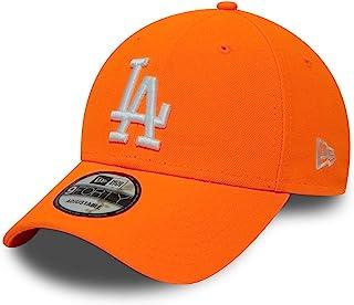 New Era 9FORTY L.A. Dodgers 棒球帽 - MLB League Essential - 霓虹橙色