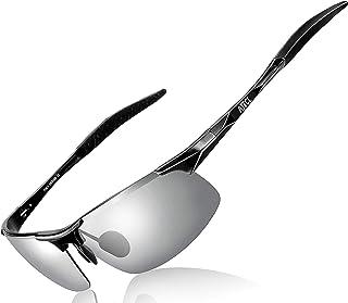 ATTCL 男士运动时尚驾车偏光太阳镜 男士 Al-Mg 金属镜框超轻