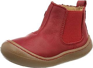 Pololo 中性款 儿童迷你红色 切尔西靴
