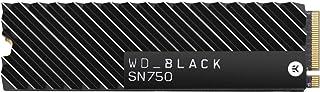 Western Digital WD 黑色 内置 固态硬盘 M.2-2280散热器 安装型号SN750 2TB NVMe WDS200T3XHC-EC
