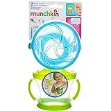 Munchkin 双零食收集器 Purple/Green 1包