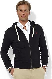 Polo Ralph Lauren 经典全拉链抓绒连帽运动衫