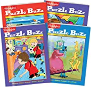 Highlights Puzzle Buzz 4 本书套装