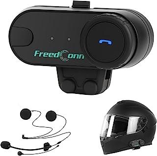 摩托车蓝牙耳机 TCOM-VB, FreedConn 双向头盔蓝牙对讲通信系统, 摩托车防水对讲机 800M *多 3 名骑手配对
