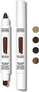 dpHUE 根部修补棒,中棕色 - 临时*和混合刷棒 - 瞬间,自然外观的灰色根覆盖 - 易于粘贴 - 持久防汗*