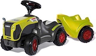 Rolly Toys 13 588 2 婴儿滑梯 Claas Xerion 带 rollyMinitrac 拖车(带拖车的滑动车,适用于 1.5-4 岁的儿童,引擎盖下储物格,静音轮胎)135882