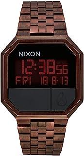Nixon 中性数字石英手表 不锈钢表带