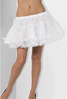 Smiffys 衬裙,带缎带 - 白色