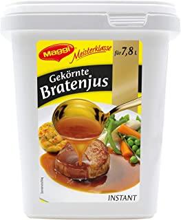 Maggi Meisterklasse Gekörnte Bratenjus, sofort löslich, 1er Pack (1 x 750g Gastro Box)