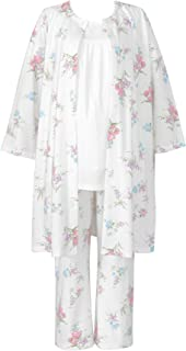 Wacoal 华歌尔 孕妇睡衣套装 产前・产后两用孕妇睡衣 *棉 羽织・哺乳前开式・长裤 MFT555 女士