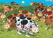 HEYE Puzzle 29410 Mordillo : iCow (1000 pieces)