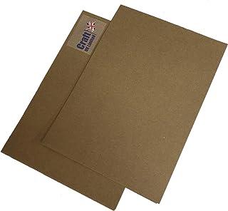 Craft UK 2343 A4牛皮纸回收纸 - 棕色 100 张 125 GSM