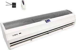 """Awoco FM-12 Power Quiet 室内空气帘 带遥控器和磁性开关 36"""" 白色 FM-1209T"""