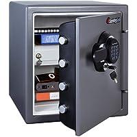 SentrySafe SFW123GDC 1.23 Cubic Feet Electronic Fire-Safe, G…