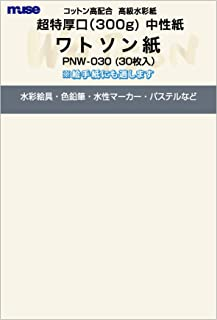 muse 明信片 明信片 盒子 粉底 PNW-030 30张装
