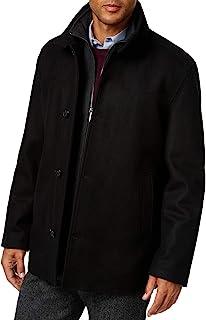 London Fog 男式羊毛混纺车衣带围兜