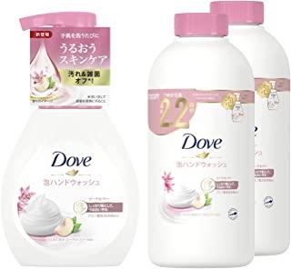 Dove 多芬 泡沫洗手液 桃花瓶 泵+替换用 桃子&莉 240mL+430mL×2个