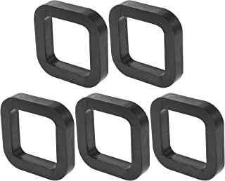 X AUTOHAUX 5件方形2英寸(约5.1厘米)车载挂接接收器垫垫垫在接收器和可调节球座拖车挂接装置减少摇铃消除噪音