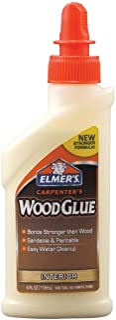 Elmer's Carpenter's Interior Wood Glue-4oz
