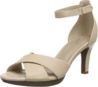 Clarks 女士 Adriel Cove 高跟凉鞋