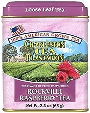 Charleston Tea Plantation 美国经典散茶,罗克维尔覆盆子味,2.3 盎司(65.2 克) (SYNCHKG035125)